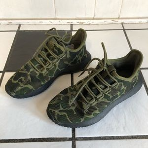 Adidas Camo Tubular Shadow Shoes - Size 6